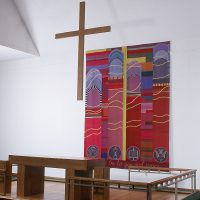 Grace Be To You And Peace - installed by Ulrika Leander