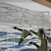 Migration - on the loom by Ulrika Leander
