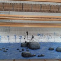 Shallow Water - On the Loom